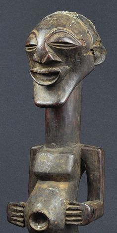 Fétiche Songye Nkisi Congo Fetish Power Figure Africain African Statue Sculpture #songye #fetish