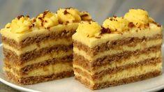 Această prăjitură cu nuci întrece orice tort! Atât de gustoasă, încât toți vor dori să o guste! - savuros.info Romanian Desserts, Romanian Food, Baking Recipes, Dessert Recipes, Torte Recepti, Mousse Cake, Cream Cake, Food To Make, Food And Drink