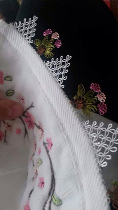 igne oyası havlu kenarı