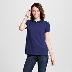 Women's Polo Shirt Navy (Blue) XS - Mossimo Supply Co.