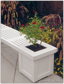 Bench/Planter combo