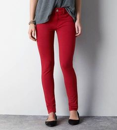 Revenge Red Knit Jegging