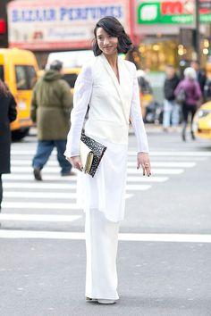 Looks de street style para llevar a la oficina | Galería de fotos 63 de 76 | VOGUE
