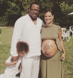 Bobby Brown And Alicia Etheredge-Brown Celebrate Baby Shower With Family And Friends [Photos]