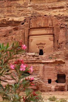 Petra (Jordan)  by Franco Caruzzo, via Flickr
