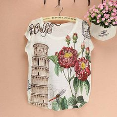 Lovely Cat pattern top tees wholesale women t shirt 2014 summer dress American & European woman clothing discount promotion sale-in T-Shirts from Apparel & Accessories on Aliexpress.com   Alibaba Group