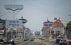 Las Vegas Strip 1981 byGerold Dreyer