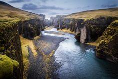 Fjaðrárgljúfur, Island