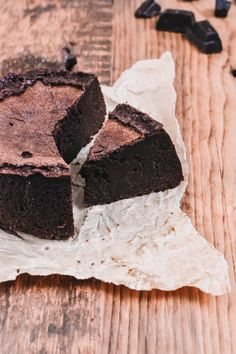 Chocolate Fondant Cake from La Baule