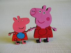 Everyone knows what fun adventures were at Peppa Pig. Come up with new stories with her ...)  Wooden 3D puzzle toys are an excellent choice to make