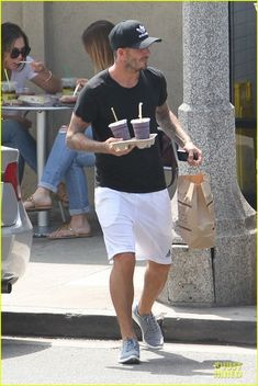 david beckham will never forget people who sacrificed 14 David Beckham grabs two juices after breaking a sweat at a gym workout on Saturday (August 9) in Brentwood, Calif.     The 39-year-old English soccer legend is also…