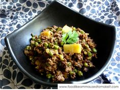 Mince Curry Recipe - I have been looking for this for years. Serve it with steamed Basmati rice and hot Roti bread.....this is winter comfort food.
