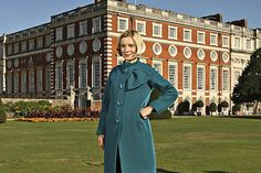 Lovely Hoss Intropia coat worn by Lucy Worsley - If Walls Could Talk Dr Lucy Worsley, Love Lucy, Charity Shop, Party Guests, Jane Austen, Historian, British Style, Thrifting, Walls