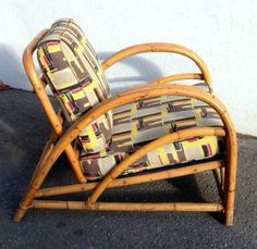 Posts about rattan written by Jen @ Montreal Digs Sunroom Furniture, Bamboo Furniture, Furniture Projects, Diy Mattress, Tropical Furniture, Old Wicker, Tiki Bar Decor, Rattan Armchair, Small Tables