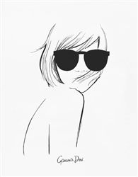 An exclusive art print from the limited edition collaboration between Rifle Paper and designer Garance Doré. Fashion Sketches, Art Sketches, Art Drawings, Pencil Drawings, Fashion Illustrations, Art Graphique, Pencil Art, Drawing Faces, Art Inspo