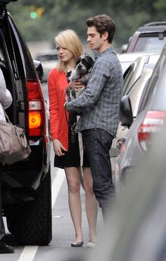 Emma Stone and Andrew Garfield Spend Mother's Day Together
