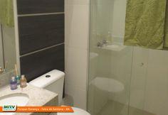 Apartamento decorado 2 quartos do Parque Florença no bairro Santa Mônica II - Feira de Santana - BA - MRV Engenharia - Banheiro