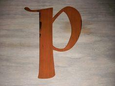 """letter P 12"""""""