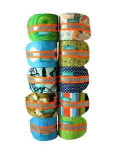 lukola handmade // Rowerowe Opaski Nogawkowe // Bike Bands for Trousers Legs