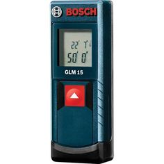 Bosch Measuring Tools 50 ft. Compact Laser Measure GLM 15 $49.97 avg (home depot) 4.8 stars from. 48 users vs Bosch Laser Levels 100 ft. Laser Measure GLM 30 4.6 stars from 14 reviews $69.97 avg (home depot) up to 100 ft of distance, surface area and volume and holds last 3 measurements vs the $49.97 model with 50ft, distance only capacity holding last 2 measurements