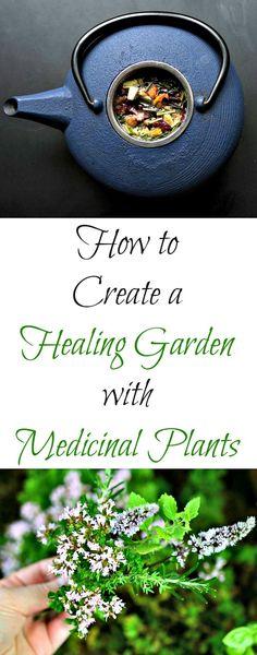 Healing Garden: How to Create a Healing Garden with Medicinal Plants