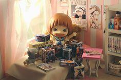 """Fangirl Mako-chan""  #toyphotography #nendoroid #toys"