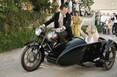 Ride in a motorcycle sidecar