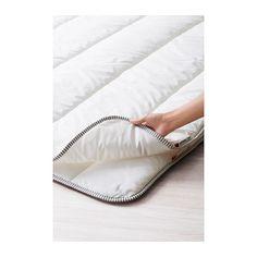 """IKEA - RÖDTOPPA, Vierjahreszeitendecke, 140x200 cm, , """"Drei Decken in einer"""" - eine kühle, leichte Decke und eine wärmere können mittels Druckknöpfen zu einer besonders warmen Decke verbunden werden.Die pflegeleichte Decke mit Füllung aus feuchtigkeitsausgleichendem Lyocell und flauschig-weichen Synthetikfasern sorgt für ein angenehmes Schlafklima.Atmungsaktive Lyocell-Baumwollmischung im Bezug sorgt durch gute Belüftung und Feuchtigkeitsausgleich für angenehmes Schlafklima.Gut gee..."""