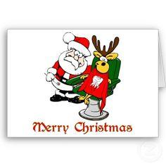 Weihnachtskarte für Zahnärzte! :-)