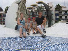 Meine Tochter mit Familie 2010