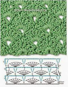 TODO PATRONES CROCHET GRATIS PASO A PASO ESQUEMA Y GRAFICOS: 150 PUNTOS FANTASÍA EN CROCHET CON GRÁFICOS PATRONES GRATIS Crochet Symbols, Crochet Motifs, Crochet Cross, Crochet Diagram, Crochet Stitches Patterns, Crochet Chart, Crochet Basics, Diy Crochet, Crochet Designs