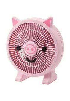Pink piggy fan
