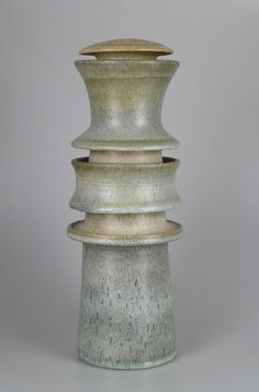 Gijb Zaalberg 1967 Large vase object by Gijb Zaalberg. Signed and dated. Height app. 35 cm.