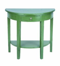 "DustyJunk just listed this Elegant 30"" Wooden Console Table with Rich Green Finish. http://www.amazon.com/dp/B009D4VFRG/ref=cm_sw_r_pi_dp_ccDhrb0X4WXQ6"