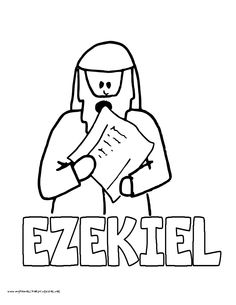 World History Coloring Pages Printables Ezekiel