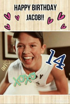 Luv u Jacob even tho his birthday was on October 2 a while ago ♥♥♥♥♥♥♥♥♥♥♥