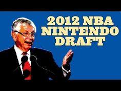 2012 NBA Draft: Nintendo Edition