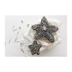 Брошь Звездопад из бисера Embroidered bead brooch  star. Bead jewelry