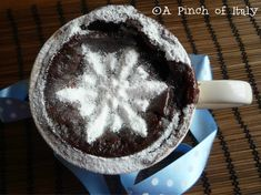 Brownie in Tazza, Ricetta Internazionale, A Pinch of Italy 1