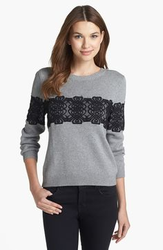 Rachel Roy Embellished Sweater