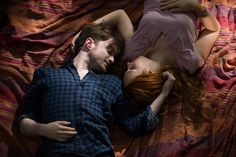 Still of Daniel Radcliffe and Juno Temple in Horns (2013)