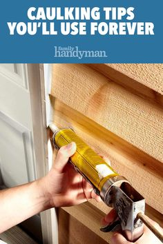 Tips For Caulking Learn the best tips for applying caulk for a smooth, mess-free seal. With these tips, you'll get perfect results every time! Home Improvement Projects, Home Projects, Home Renovation, Home Remodeling, Caulking Tips, Diy Casa, Home Fix, Diy Home Repair, Up House