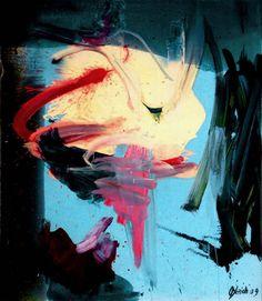 Joanna Gleich, Dimensions, Öl auf Leinen, 150 x 130 cm, 2009-2010