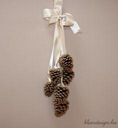Egyszerű őszi dekorációs ötletek Blue Design, Brooch, Crafty, Jewelry, Creative Ideas, Advent, Craft Ideas, Decorating, Blog