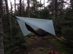 My Hammock System (Version 1.1) | Ultralight for the Weekend Warrior Hammock Posts, Hammock Tarp, Tie Knots, Outdoor Gear, I Am Awesome, Camping, Life, Campsite, Campers