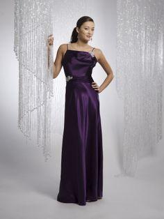A-ligne robes demoiselle honneur en satin - Robes de Mariage Boutique