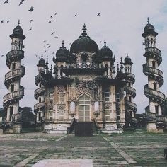 India palace | Fantasy inspiration | Spiral stairs | Towers