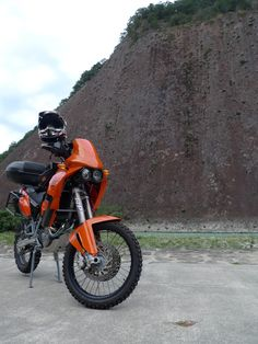 My KTM 640 adventure 2005