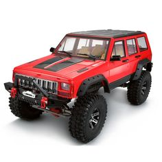 Radio controlled (RC) toys can be toy grade or hobby grade. The toy-grade Radio Controlled devices can be available at a cheap rate in almost every retail store Rc Cars And Trucks, Trucks For Sale, Rc Rock Crawler, Cherokee Sport, Hobbies For Men, Cheap Hobbies, Jeep Xj, Jeep Accessories, Radio Control