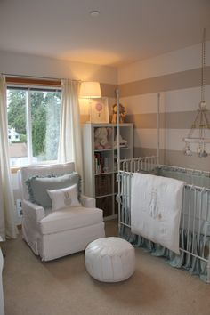 A really wonderful baby's room done by a friend's cousin. Lucky little guy who will get it!